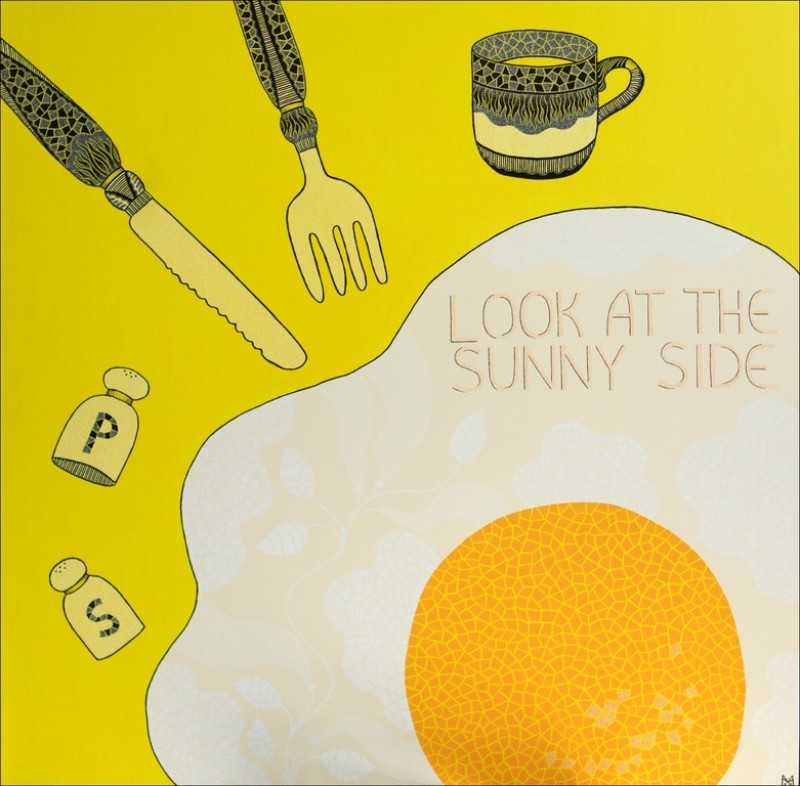 Look at the sunny side